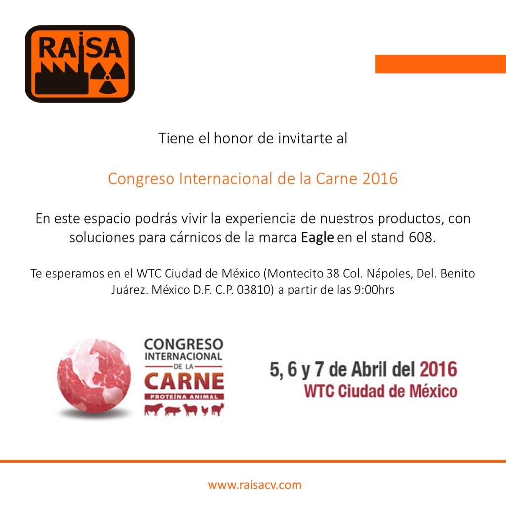 Congreso Internacional de la Carne 2016